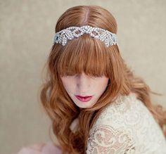 Lovely #princess #bridal headband