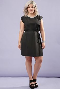 Plus Size Rhinestone Belted Sheath Dress $29.90 - New Arrivals | PLUS SIZE | Forever 21