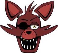 Foxy Head by kaizerin.deviantart.com on @DeviantArt =========================   #FNAF