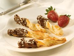 Chocolate-Dipped Spiced Twists