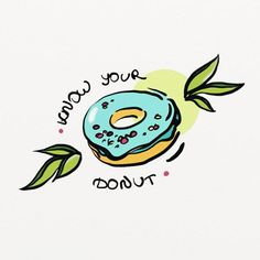 and again. sorry about that) #doodle #sketch #digitalart #digital #donuts #colors #food #art #drawing #illustrations