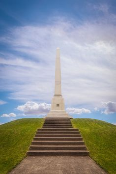 Monumental ~ Sullivan's Monument at Newtown Battlefield State Park near Elmira, Chemung, NY