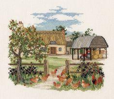 Derwentwater Countryside Series Appletree Farm Counted Cross Stitch Kit Derwentwater Designs http://www.amazon.co.uk/dp/B004E5BZOW/ref=cm_sw_r_pi_dp_1Jx6vb1J6PEV4