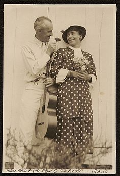 Citation: Konrad and Florence Cramer, ca. 1930 / unidentified photographer. Konrad and Florence Ballin Cramer papers, Archives of American Art, Smithsonian Institution.