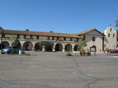 Mission Santa Inez in Solvang, CA.  One of the early Mission Churches in California