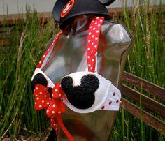 Rave Bra/EDC Bra/ Festival Bra/ Mickey Mouse Disney Bra