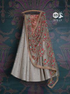 Off white embroidered wedding lehenga, bridal lengha choli, indian bride, indian wedding dress, whit - Indian Lehenga, Lengha Choli, Choli Dress, Lehenga Skirt, Lehenga Blouse, Dress Skirt, Party Wear Lehenga, Bridal Lehenga, Indian Wedding Outfits