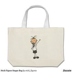 Stick Figure Singer Bag