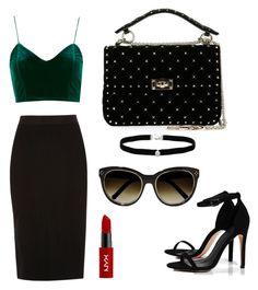 Designer Clothes, Shoes & Bags for Women Amanda Rose, Nyx, River Island, Boohoo, Diva, Valentino, Shoe Bag, Polyvore, Stuff To Buy