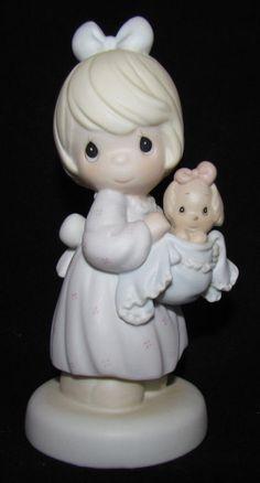 Precious Moments Figurine MIB 527122 ~ You Can Always Bring A Friend puppy ~ 1st