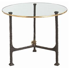 ARTERIORS Home Narnia Iron / Glass End Table