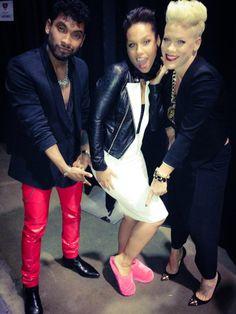 Miguel, Alicia Keys  and P!nk.