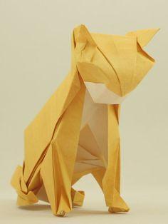 cat origami easy hard