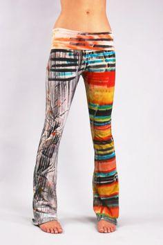 830 Encanta Yoga Pants by COUTURETEEdotCOM on Etsy