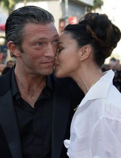 Vincent Cassel and Monica Bellucci