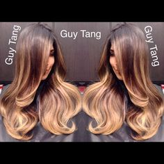 #balayage #ombre #makeover