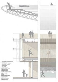 Busan Opera House Proposal: 3rd Prize Winner / Henning Larsen Architects + Tomoon Architects  section/elevation value                                                                                                                                                                                 Más