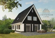 Kleine Kaap B - Lighthouse Living Lighthouse, New Homes, House Design, Cabin, Dream Houses, Live, House Styles, Places, Projects