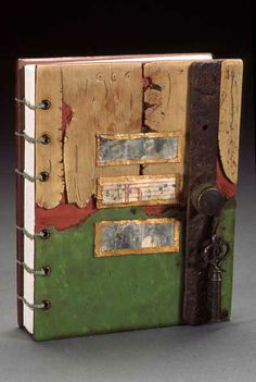 Hand made book Coptic binding eyelet holes