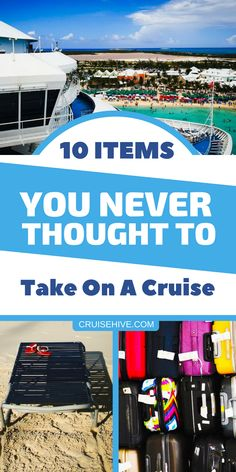 If you're planning a cruise vacation then we've put together these items which you might have never thought to pack. Some handy items for your travel packing list. Source by cruisehive packing list Bahamas Cruise, Cruise Port, Cruise Travel, Cruise Vacation, Travel Packing, Travel Hacks, Family Cruise, Carnival Cruise Bahamas, Vacations