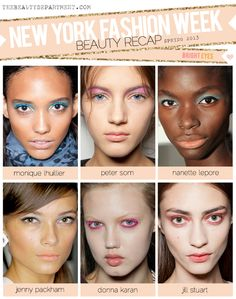 TBD NYFW Spring 2013 Bright Pastel Eyes