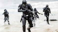 Rogue One's Death Troopers. Photo: Jonathan Olley/Lucasfilm-Disney via AP