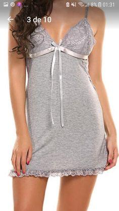 Cute Sleepwear, Satin Sleepwear, Sleepwear Women, Nightwear, Jolie Lingerie, Women Lingerie, Ropa Interior Babydoll, Pijamas Women, Cute Pajamas