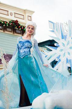 Elsa Face Character