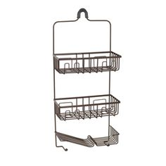 "20"" Oil Rubbed Bronze Paris Hotel or Train Rack style"