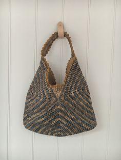 Diane striped raffia bag from Greedilulu