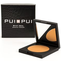 Pui Pui Stay Real Compact Powder; Sole Brown - ref. 25406