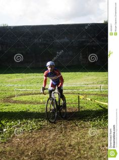 Cycling competition in Rome, Italy.