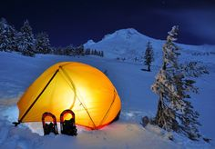 Winter camping and backpacking tips from REI. This link has loads of worthwhile information. Get the tips and info you need about gear planning, clothing, food and shelter to make winter camping comfortable and enjoyable. Winter Camping Gear, Snow Camping, Cold Weather Camping, Camping And Hiking, Family Camping, Tent Camping, Outdoor Camping, Outdoor Gear, Winter Gear