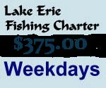 Lake Erie Fishing Guide listed on www.1fghp.com