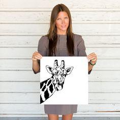 Girafe Art Print par LesPetitsPrints sur Etsy