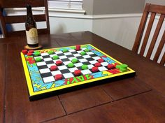 comic book checker board, comic style game board, old school comic chess board, super hero game board- large by ChrisNCarries on Etsy Comic Book Superheroes, Comic Books, Old School Board Games, Art Boards, Chess Boards, Super Hero Games, Checker Board, Comic Styles, Book Themes