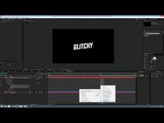 Glitch effect Tutoriel AFTER EFFECTS (watch dogs) Francais - YouTube