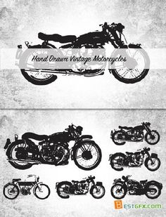 vintage motorcycle tattoos - Google Search More