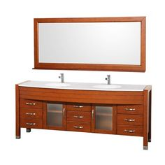 Wyndham Collection WCV220078CH Daytona 78-in Double Vanity Set
