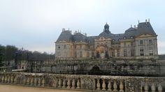 Le Château de Vaux-le-Vicomte en France.