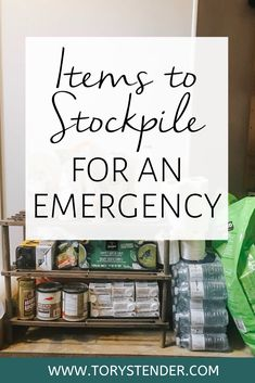 Emergency Prepper Pantry Food Stockpile Guide For Pulling Through An Apocalypse: Core Aspects In Making Your Pantry Considered - Prepper Bob Emergency Preparedness Food Storage, Emergency Food Supply, Emergency Preparation, Emergency Supplies, Disaster Preparedness, Emergency Preparedness Kit List, Survival List, Survival Prepping, Survival Skills