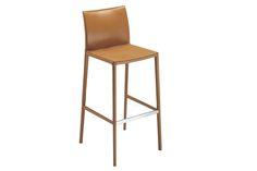 Leo Stool by Roberto Barbieri for Zanotta Foot Rest, Aluminium Alloy, E Design, Bar Stools, Leo, Upholstery, Chair, Elegant, Furniture
