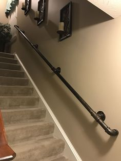 Wood W… 6 Stunning Tricks: Hand Woodworking Tools wood working garage lumber rack.Wood W 6 Stunning Tricks: Hand Woodworking Tools wood working garage lumber rack. Basement Makeover, Basement Renovations, Home Renovation, Home Remodeling, Stair Handrail, Handrail Ideas, Banisters, Railings, Pipe Railing
