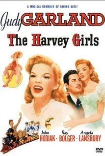 The Harvey Girls ~ Starring Judy Garland and Ray Bolger. Today June would have been Miss Garland's birthday. There is no way I could let the day pass without pinning some of her movies. This is one of my favorite Judy Garland Movies. Old Movie Posters, Classic Movie Posters, Classic Movies, Cinema Posters, Classic Tv, Vintage Posters, Old Movies, Vintage Movies, Great Movies