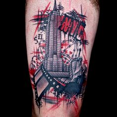 Check out this high res photo of Tyler Nolan's tattoo from the Trash Polka episode of Ink Master on Spike.com.