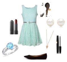 """Untitled #1"" by jpnunn ❤ liked on Polyvore featuring Glamorous, Breckelle's, Tiffany & Co. and Pamela Love"