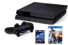 PlayStation 4 Battlefield 4 Launch Day Bundle #PS4 #PlayStation4 #Battlefield4 The official release date for the PlayStation 4 is November 15, 2013. Confirmed orders will arrive at your shipping address based on the shipping speed selected.