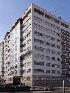 Casa Feltrinelli, Milano - Alberico e Lodovico Barbiano di Belgiojoso