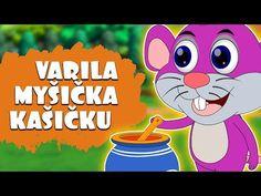 Varila myšička kašičku | Slovenské detské pesničky | Slovak Folk Song - YouTube Folk, Youtube, Fictional Characters, Popular, Forks, Folk Music, Fantasy Characters, Youtubers, Youtube Movies