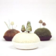 Hey, I found this really awesome Etsy listing at https://www.etsy.com/listing/101916458/tiny-pines-in-snow-microcosm-miniature